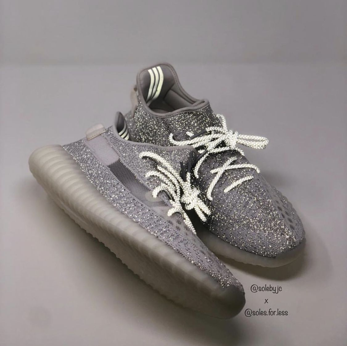 "39fafb5fb0888 Yeezy 350 V2 ""Static"" F F (Full 3M)"