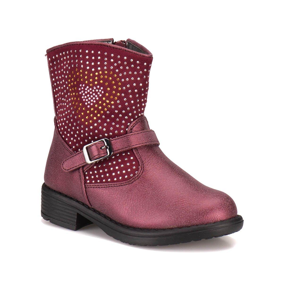 Pink Step A3311292 Bordo Kız Çocuk Biker - Bot / Çizme - Tüm Kız Çocuk Ürünleri - Çocuk