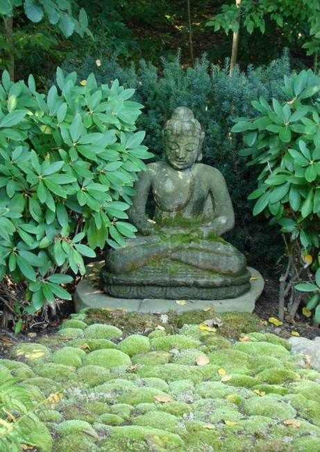 Buddha Garden  Jan Johnsen