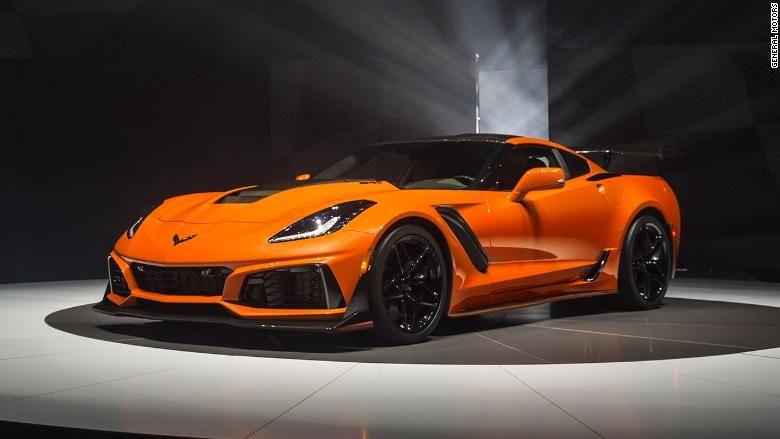 Gm Unveils Fastest Corvette Ever Corvette Zr1 Chevrolet