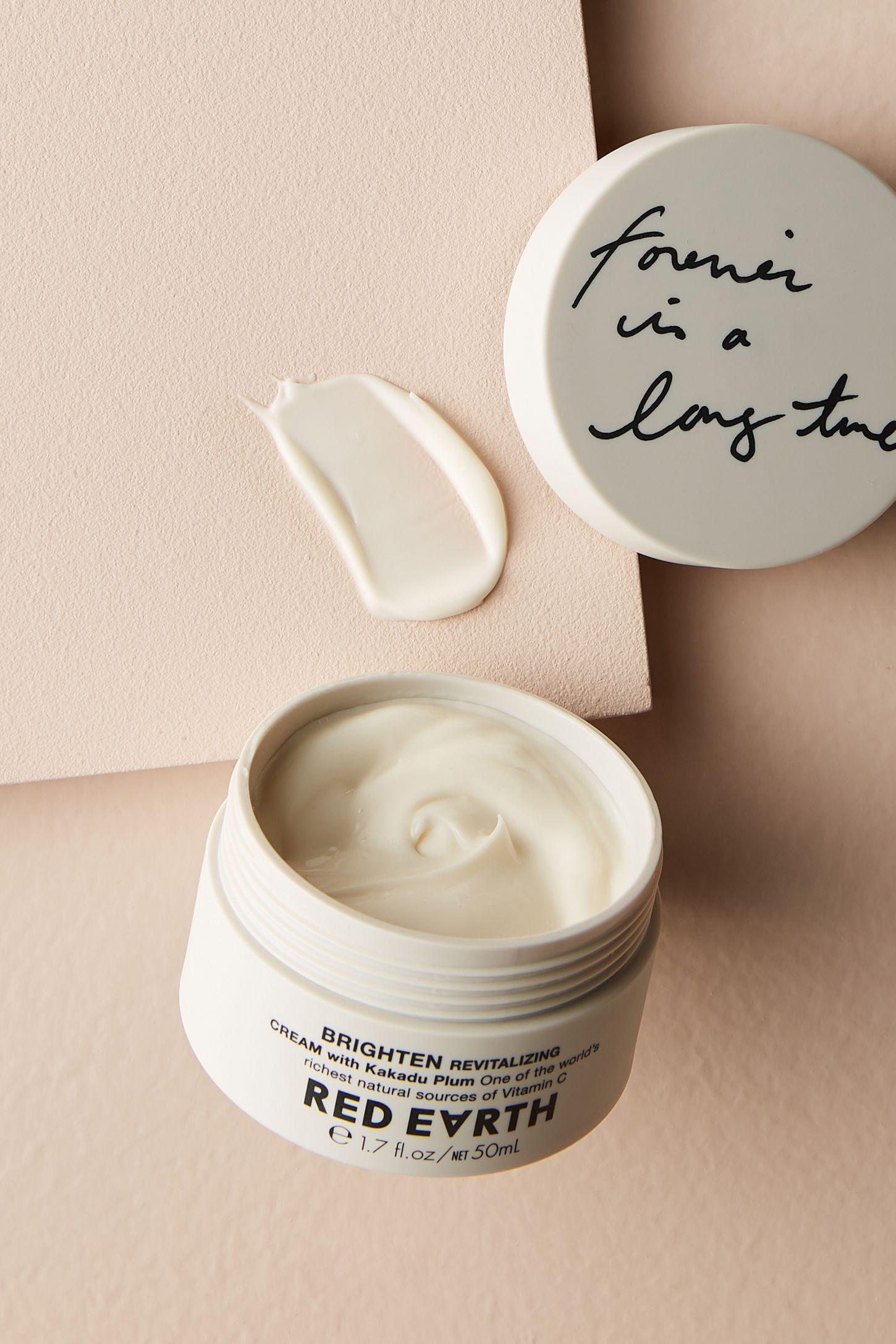 Red Earth Brighten Revitalizing Cream Beauty cream