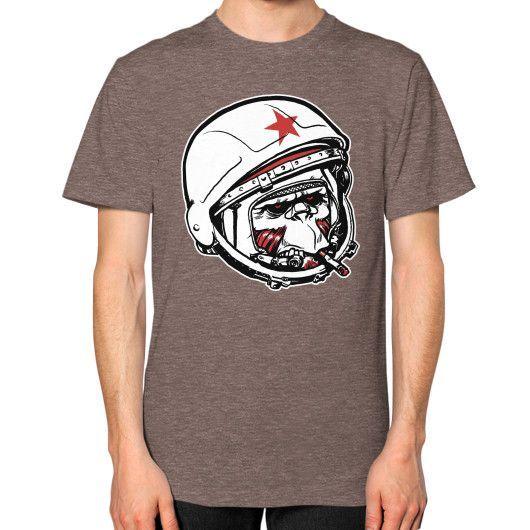 Cosmonaut Unisex T-Shirt (on man)