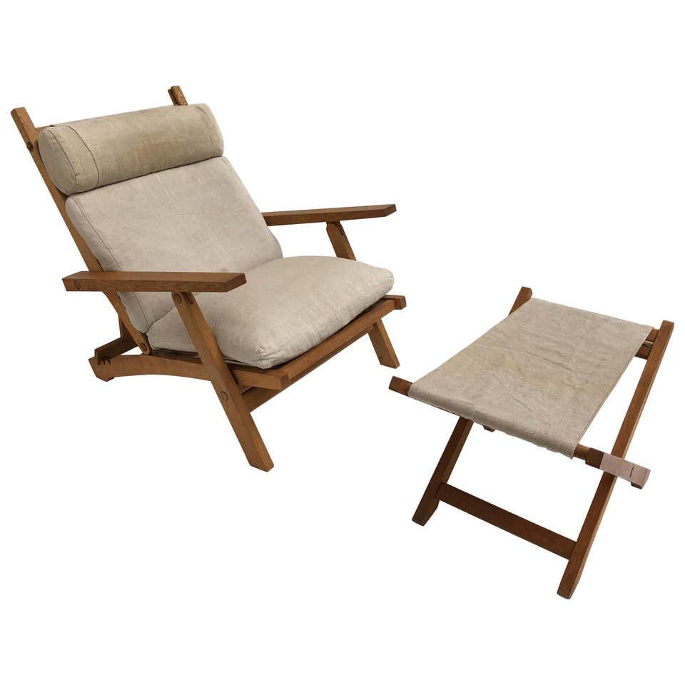 Amazing Danish Hans Wegner Ap71 Reclining Lounge Chair And Ottoman Ap Mobler 1968 Lounge Chair Design Folding Lounge Chair Wegner Lounge Chair