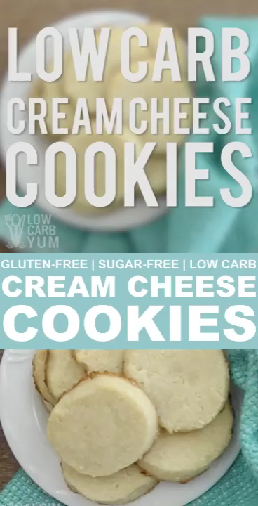 Photo of Low Carb Cream Cheese Cookies