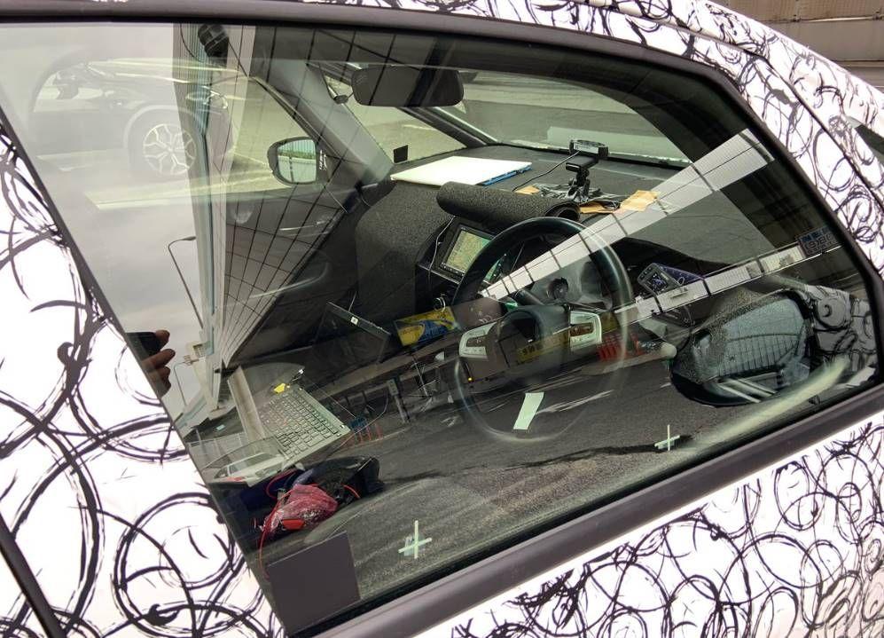 Novo Flagra Revela O Painel Do Novo Honda Fit Noticias Automotivas Honda Fit Honda E Cambio Manual