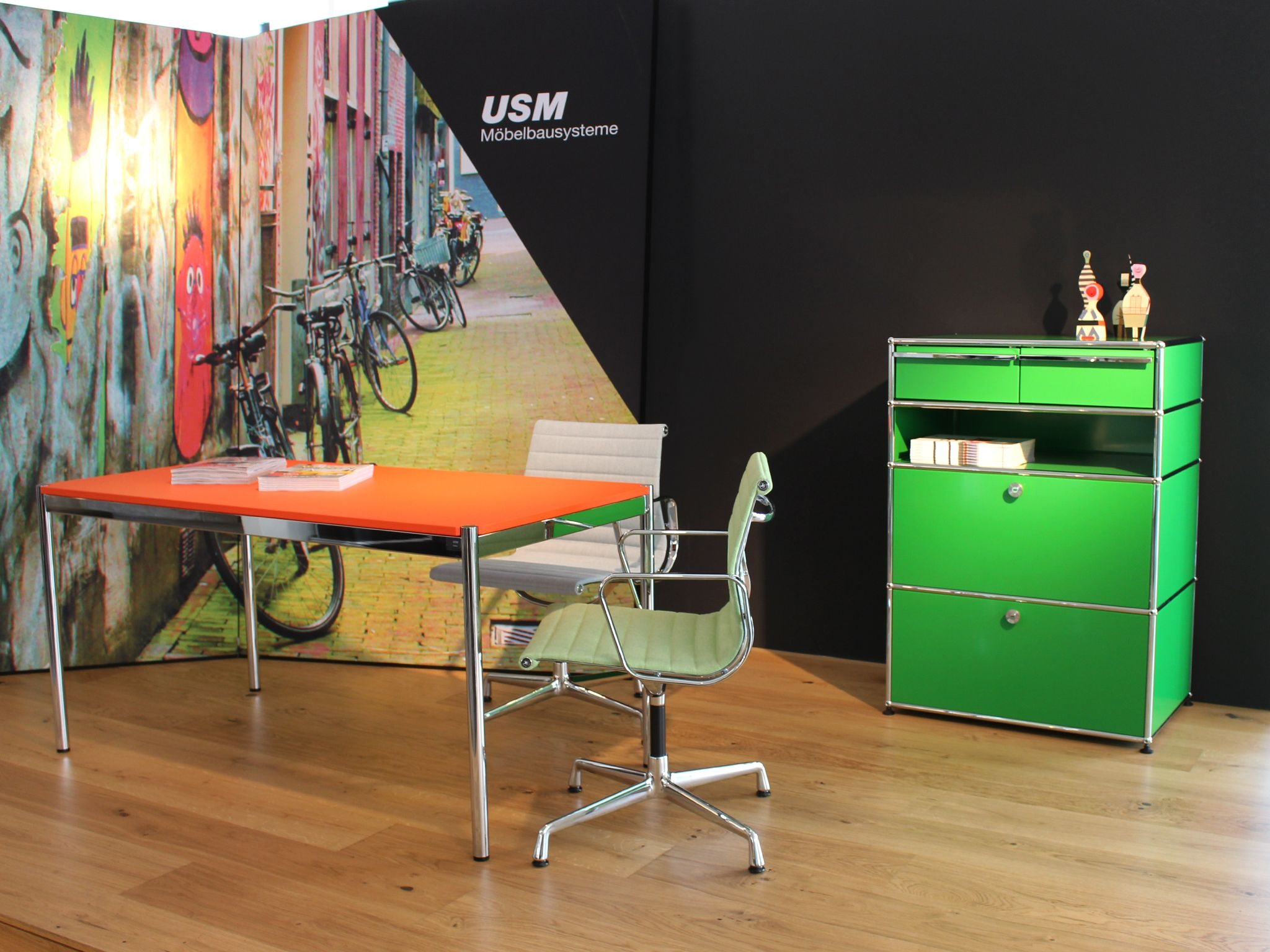 USM Exhibition at Tick in Bielefeld, Germany