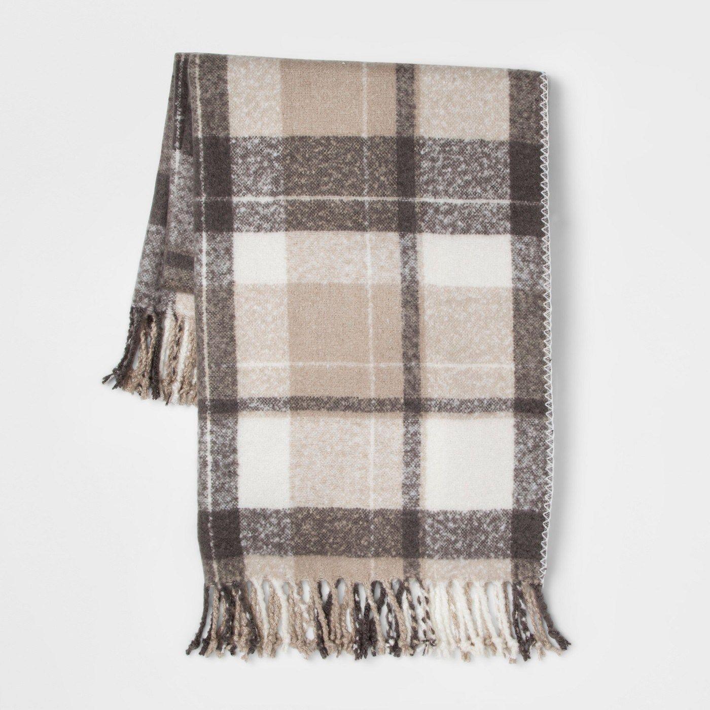Winter Target Home Decor Haul White Throw Blanket Fur Bed Throw Plaid