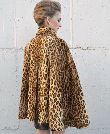 Wren -- Lizzie Cape Coat