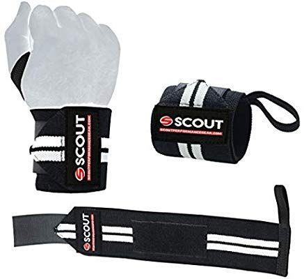 c0c34f56e9b69 Amazon.com : Lifting Wrist Wraps Straps Gym Workout Support with ...