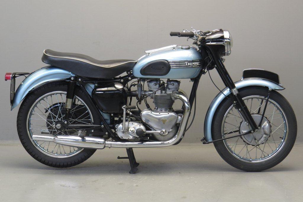 >1955 Triumph T100 500cc. Classics are the best in my world