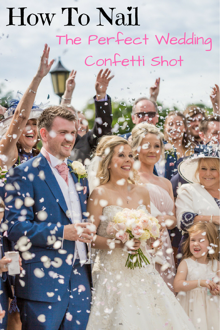 Wedding Photography Tips How To Master The Perfect Confetti Photo