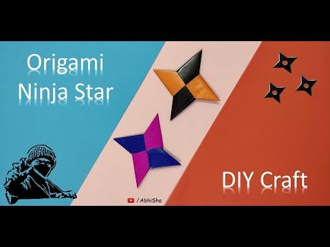 Photo of How to make Ninja Star | #Origami Ninja star | Kids | Paper craft | Ninja Shuriken | Ninja Hathori