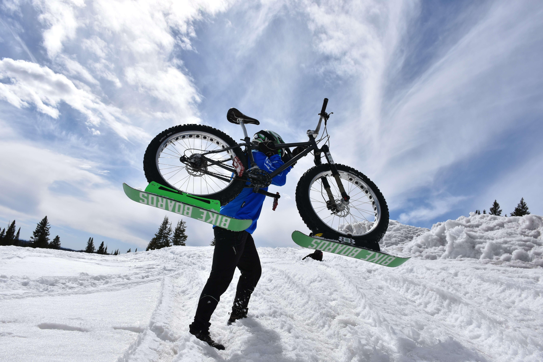Www Bikeboards Net Winter Biking Gear Wheel Skis