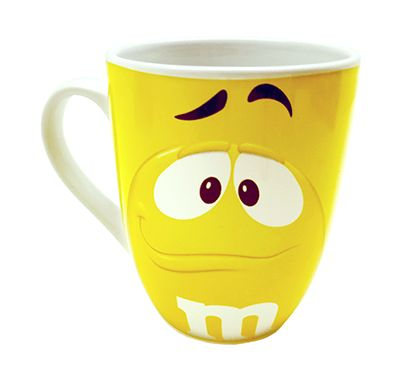 m m s character mug yellow shop online at candylicious