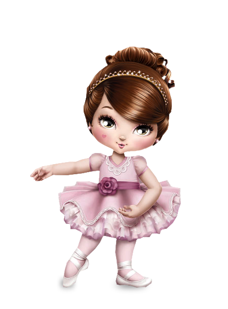 Jolie Bailarina Kit Completo Com Molduras Para Convites Rotulos
