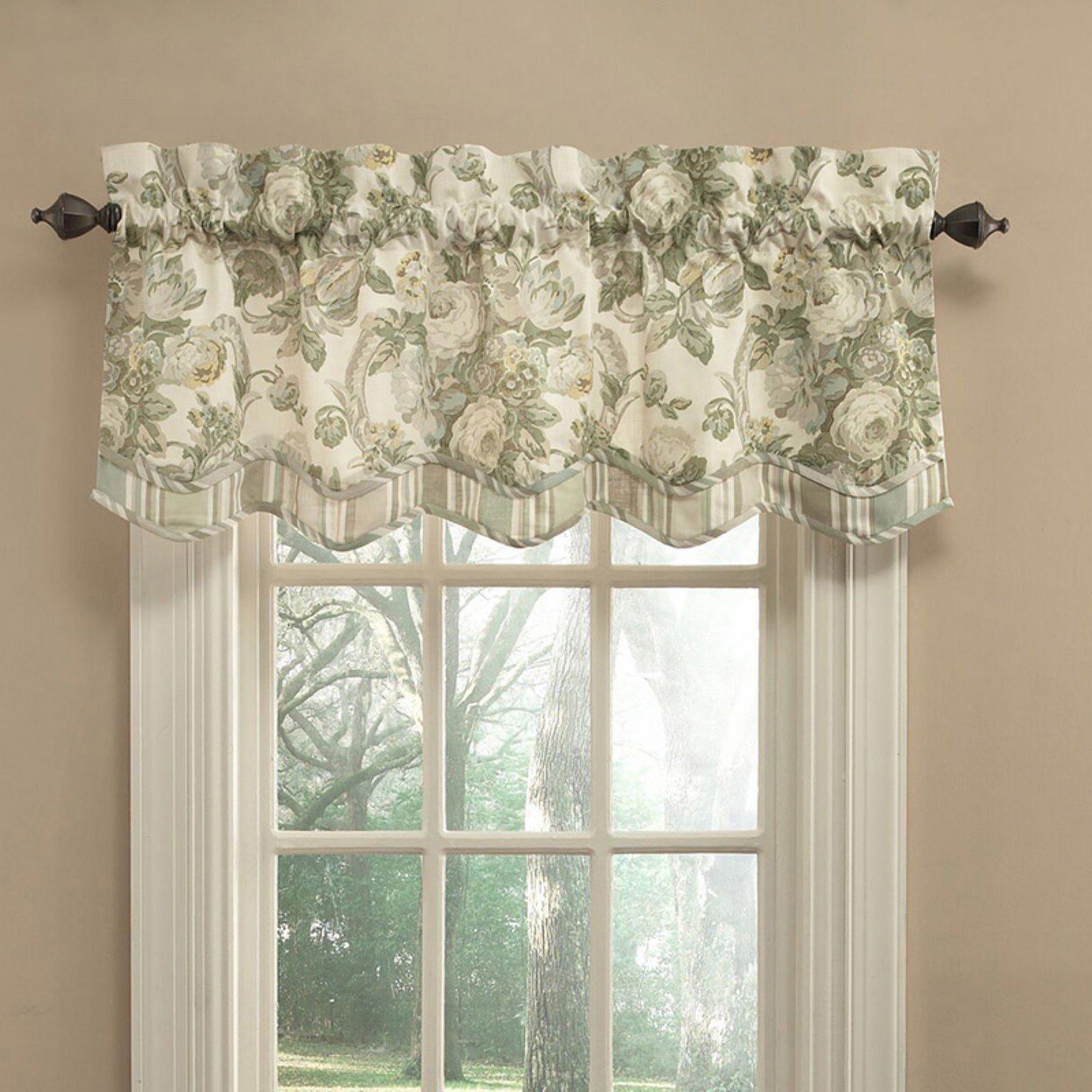 Waverly Spring Bling Window Valance Vapor Windowtreatmentsets Tende Per Finestra Tende Tendina