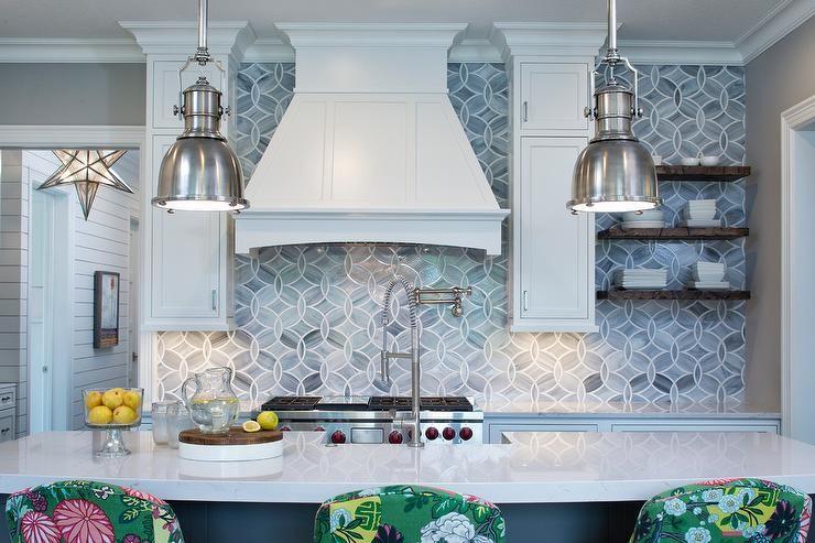 Ann Sacks Beau Monde Glass Polly Glass Tiles In Absolute