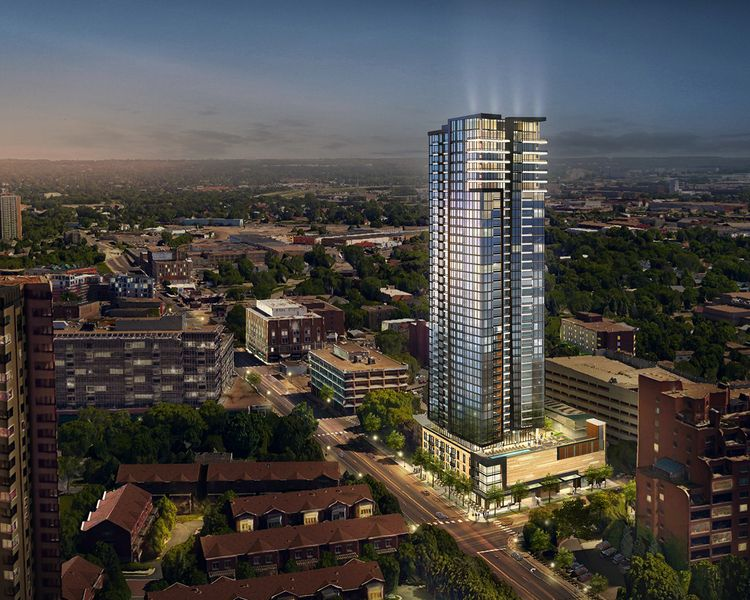40 Story Condo Tower Planned For Northeast The Development Tracker Minneapolis Tower Exterior Condo