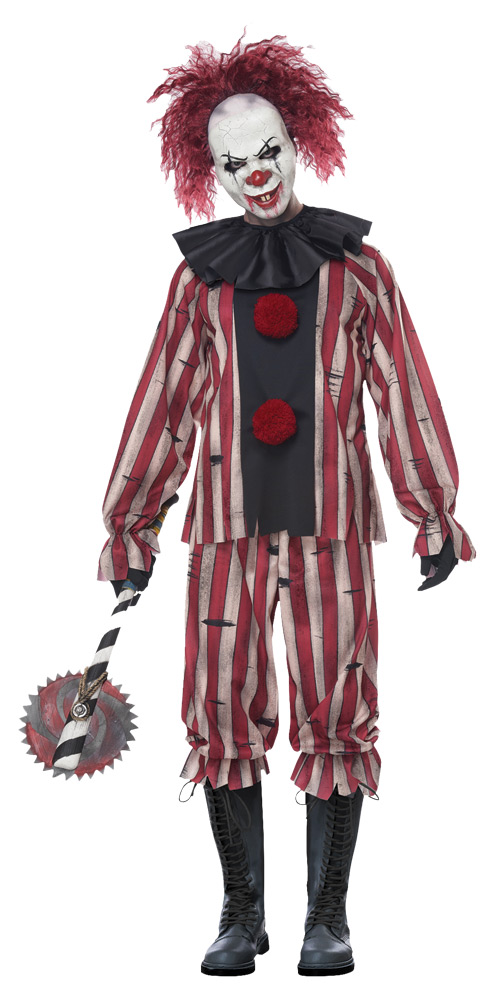 Pin On Crazy Clown Costume Ideas