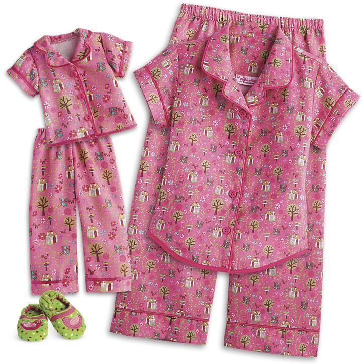 3b6cd7500f29 American Girl Enchanted Garden PJs for Girls www.americangirl.com ...