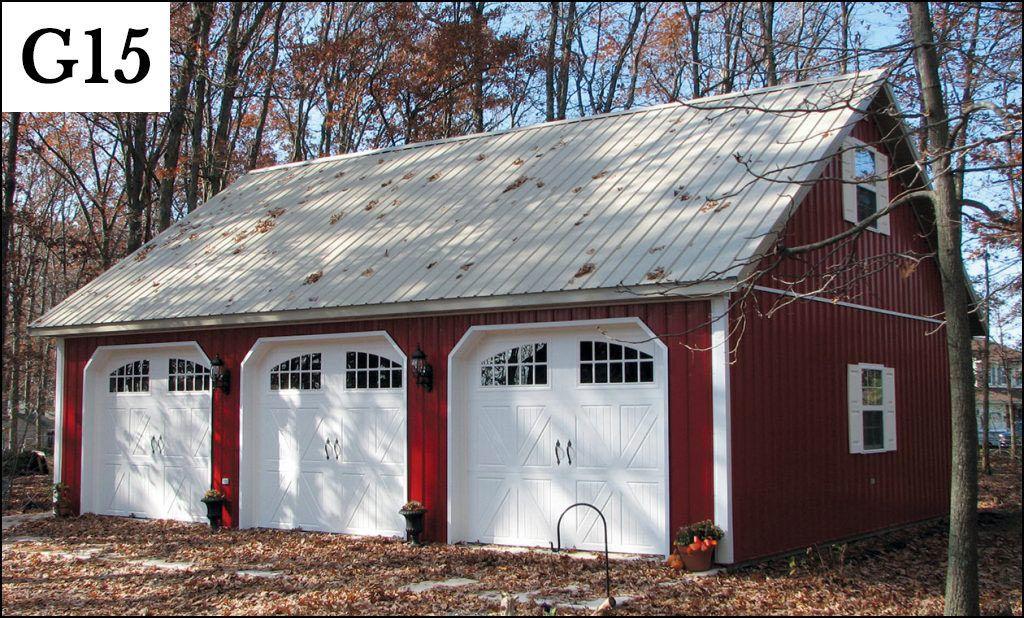 custom post frame garage g15 House Pinterest – Post Frame Garage Plans