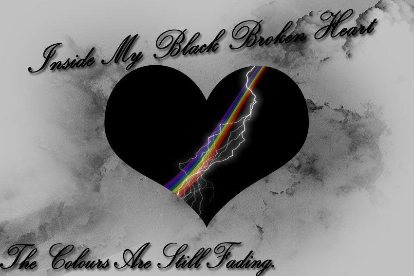 Black Broken Heart Broken Heart Broken Boys Wallpaper Awesome black broken heart wallpaper