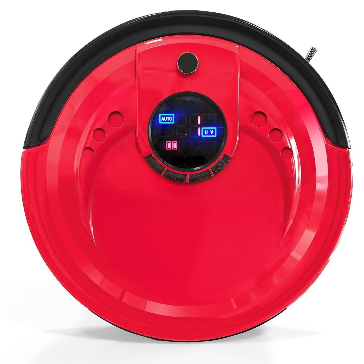 bObsweep Standard Robot Vacuum Cleaner and Mop Rouge