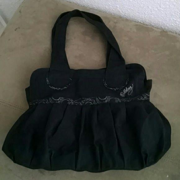Billabong purse Cloth, snap close, gray trim, Billabong purse Billabong Bags