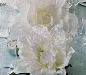 Wedding & garden paper flowers