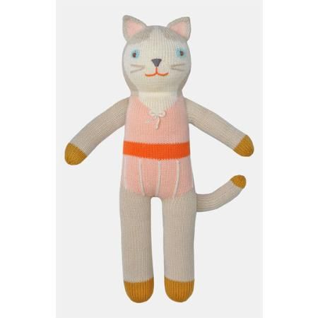 Blabla 'Colette the Cat' Knit Doll