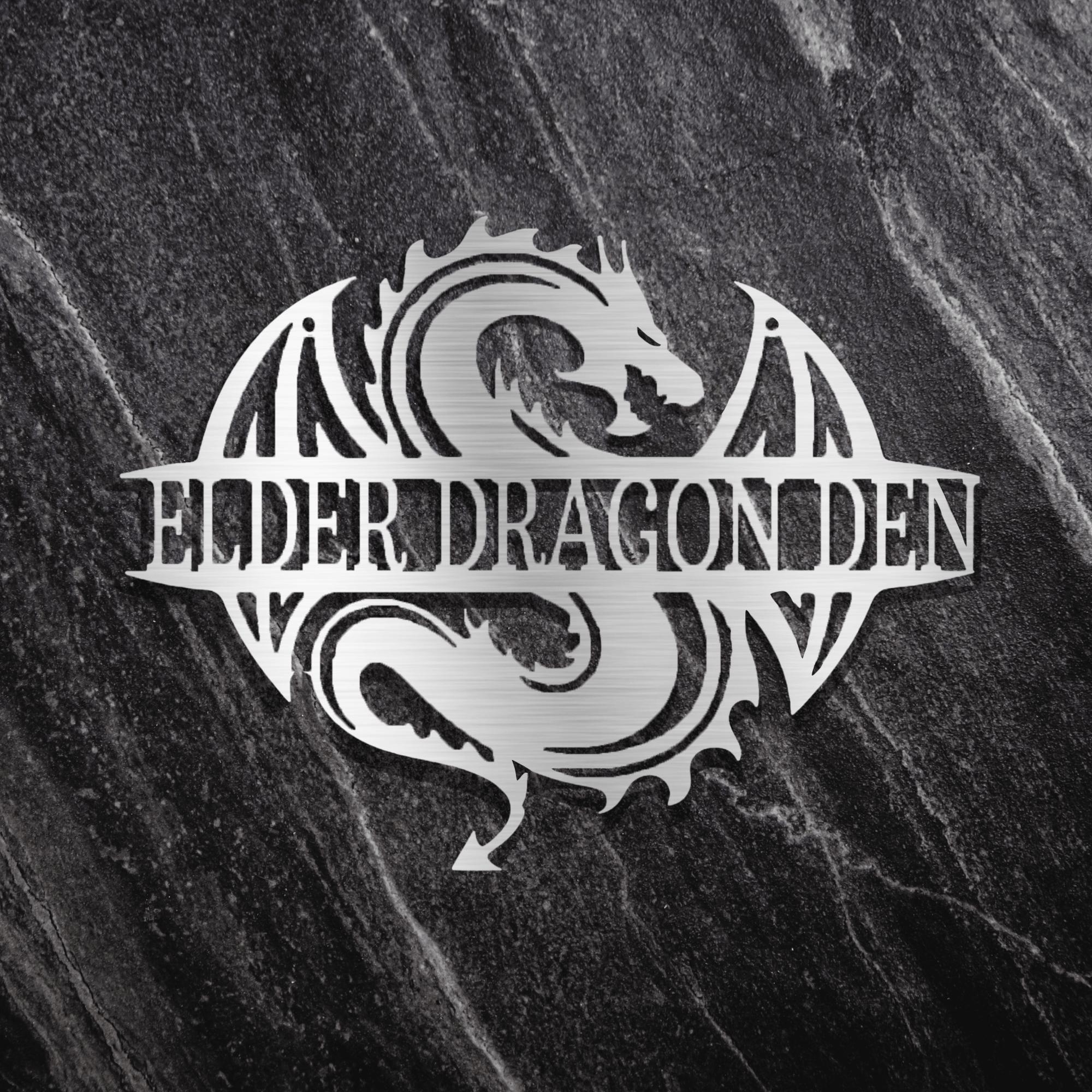 Photo of Decorative Dragon Age Wall Art – Silver / 24