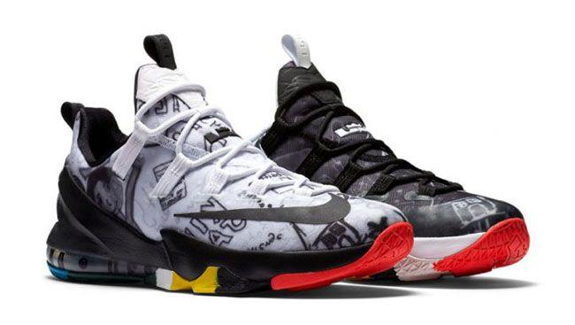 best website cfc92 319fe Nike LeBron 13 Low LBJ Family Foundation