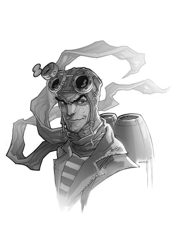steampunk on Behance
