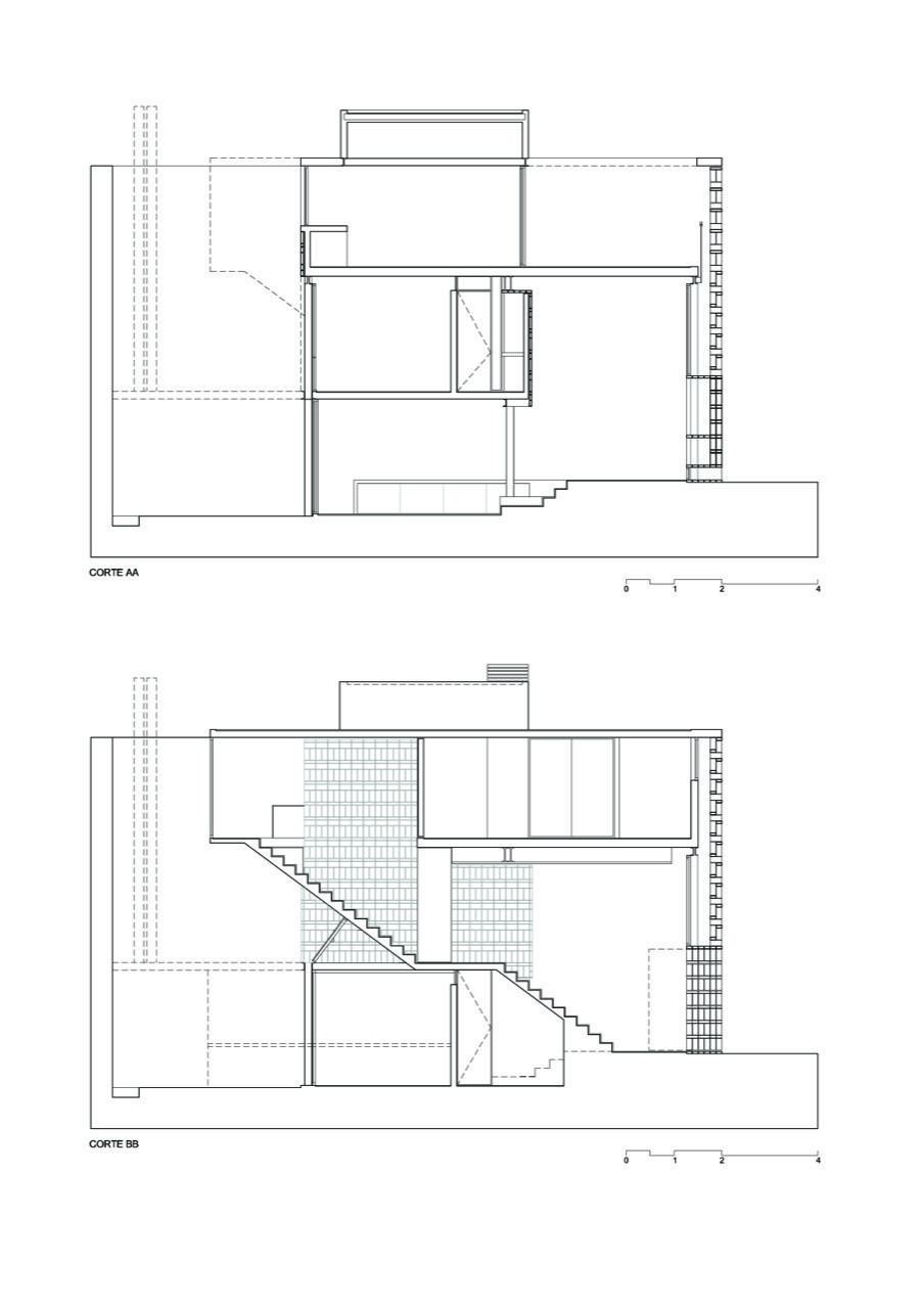 Gallery of Brick House / Ventura Virzi arquitectos - 15 ... on small bedroom layout, small nursery layout, small kitchen layout, small home lighting, small house layout, small storage layout, small business layout, small home posters, small home drawing, small dining room layout, small home engineering, home office design layout, small stone layout, small home painting, small home construction, small apartment layout,