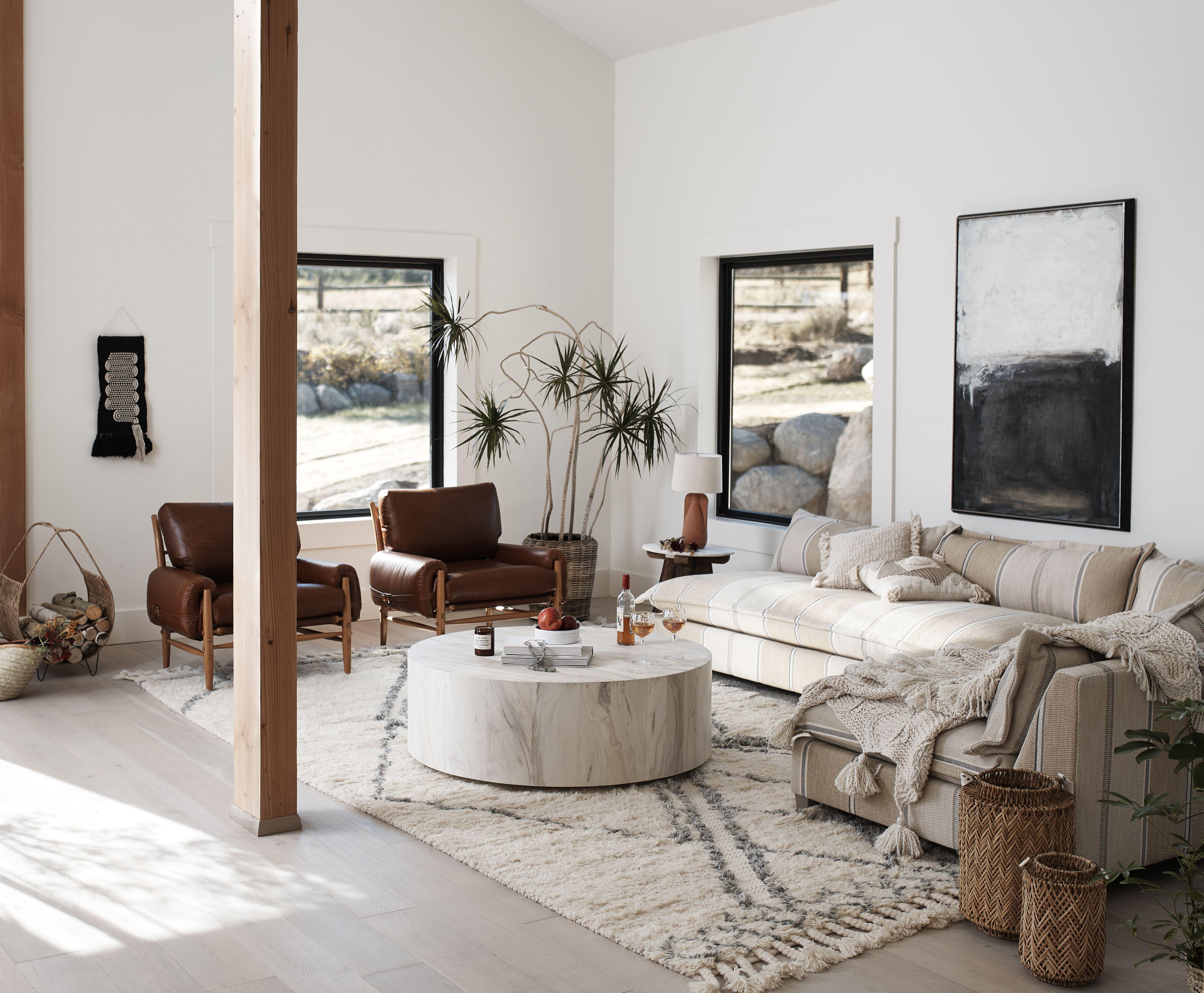 Swirled Drum Coffee Table Decor Home Decor Living Room