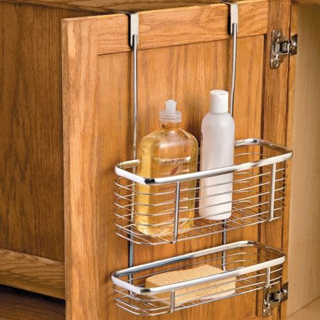 over the cabinet storage basket small space solutions casitas rh pinterest cl over the cabinet storage basket over the cabinet storage basket