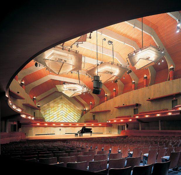 Winspear Auditorium, Murchison Performing Arts Center, University of North Texas College of Music