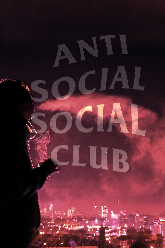 Anti Social Social Club Wallpaper.