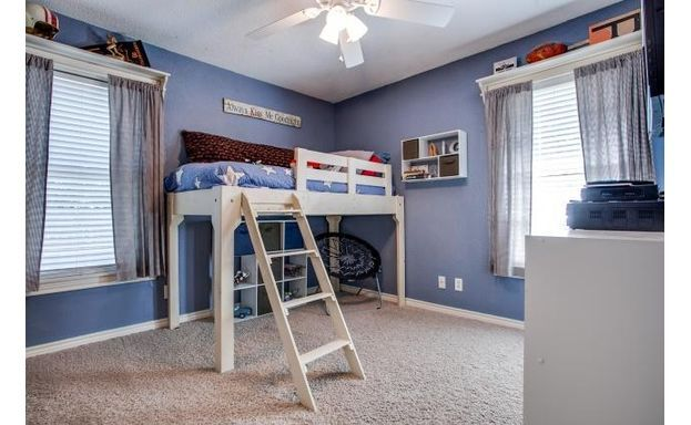 Play Area Under The Bunk Bed!
