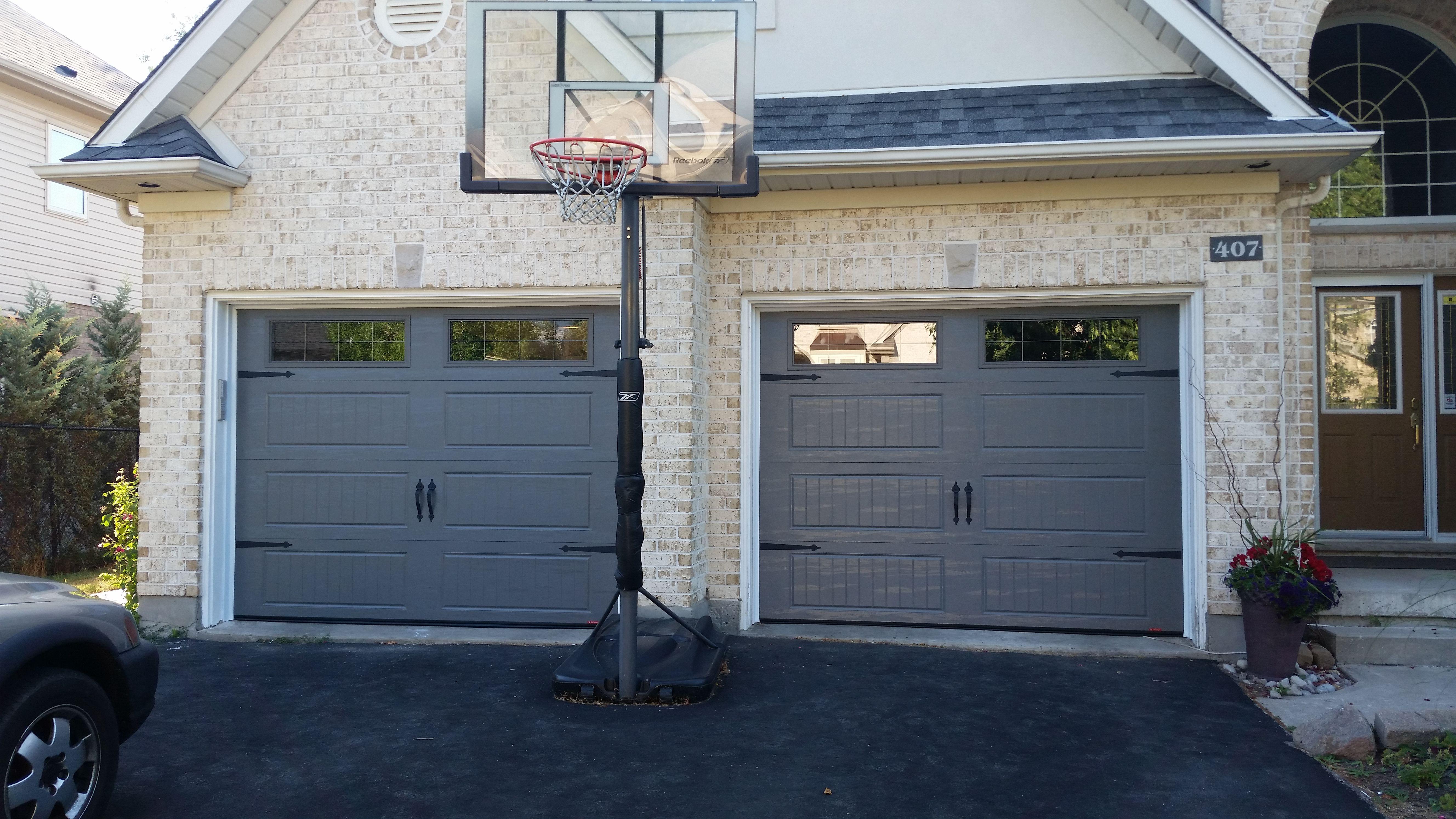 I 18213 Garaga North Hatley Lp In Charcoal Garage Doors Outdoor Decor Doors