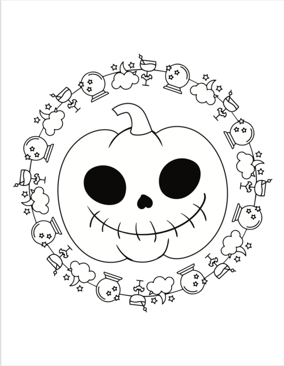25+ Free Printable Halloween Coloring Pages  Halloween coloring