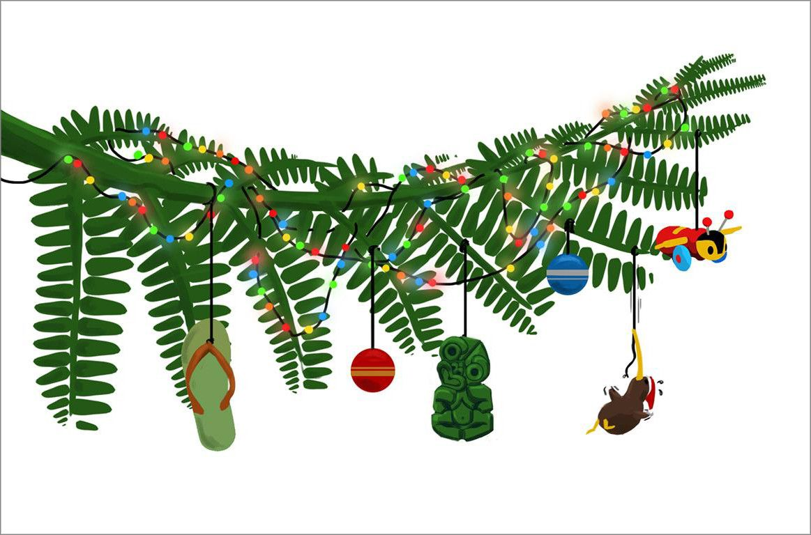 Image Result For Kiwi Christmas Decorations Homemade Xmas Decorations Christmas Tree Themes Christmas Decorations