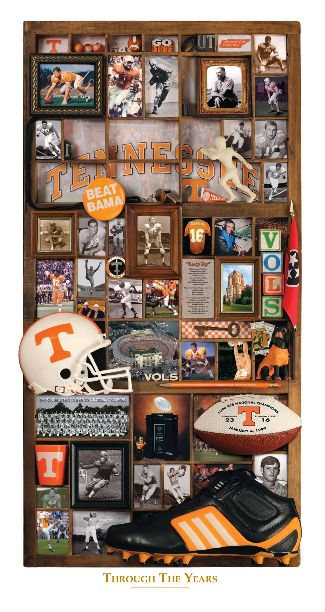 University Of Tennessee Vols Through The Years History Football