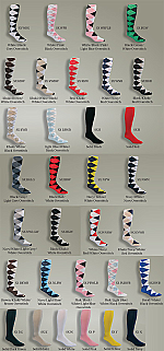bd6ab461d The Highlands Argyle Women s Golf Sock Collection