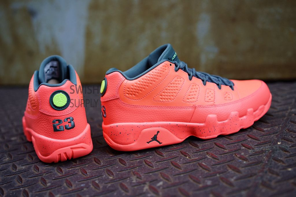 5227d33904fa Air Jordan 9 Low Infrared (Bright Mango)