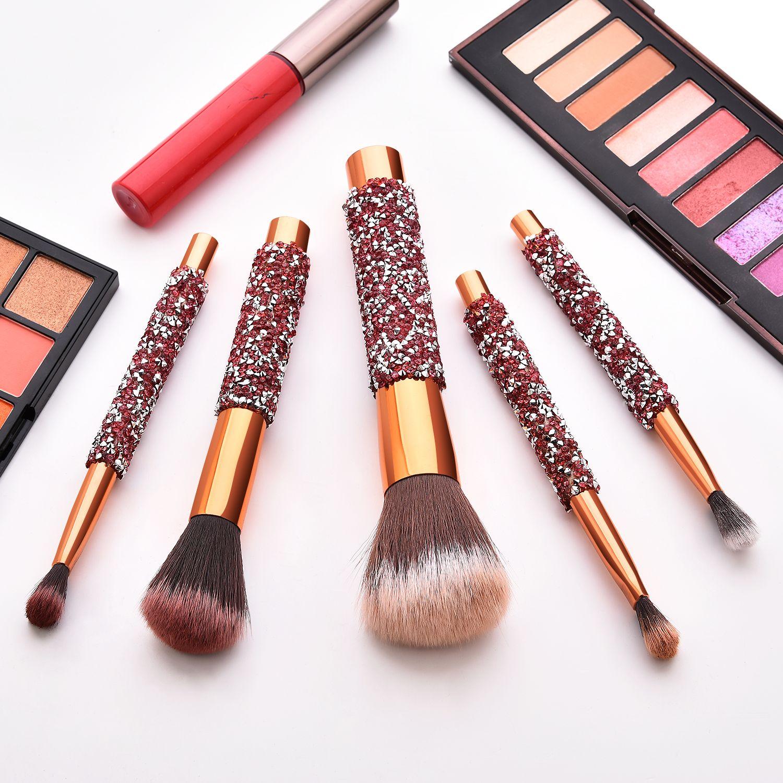 11Pcs Makeup Eyeshadow Foundation Concealer Brushes Sets+