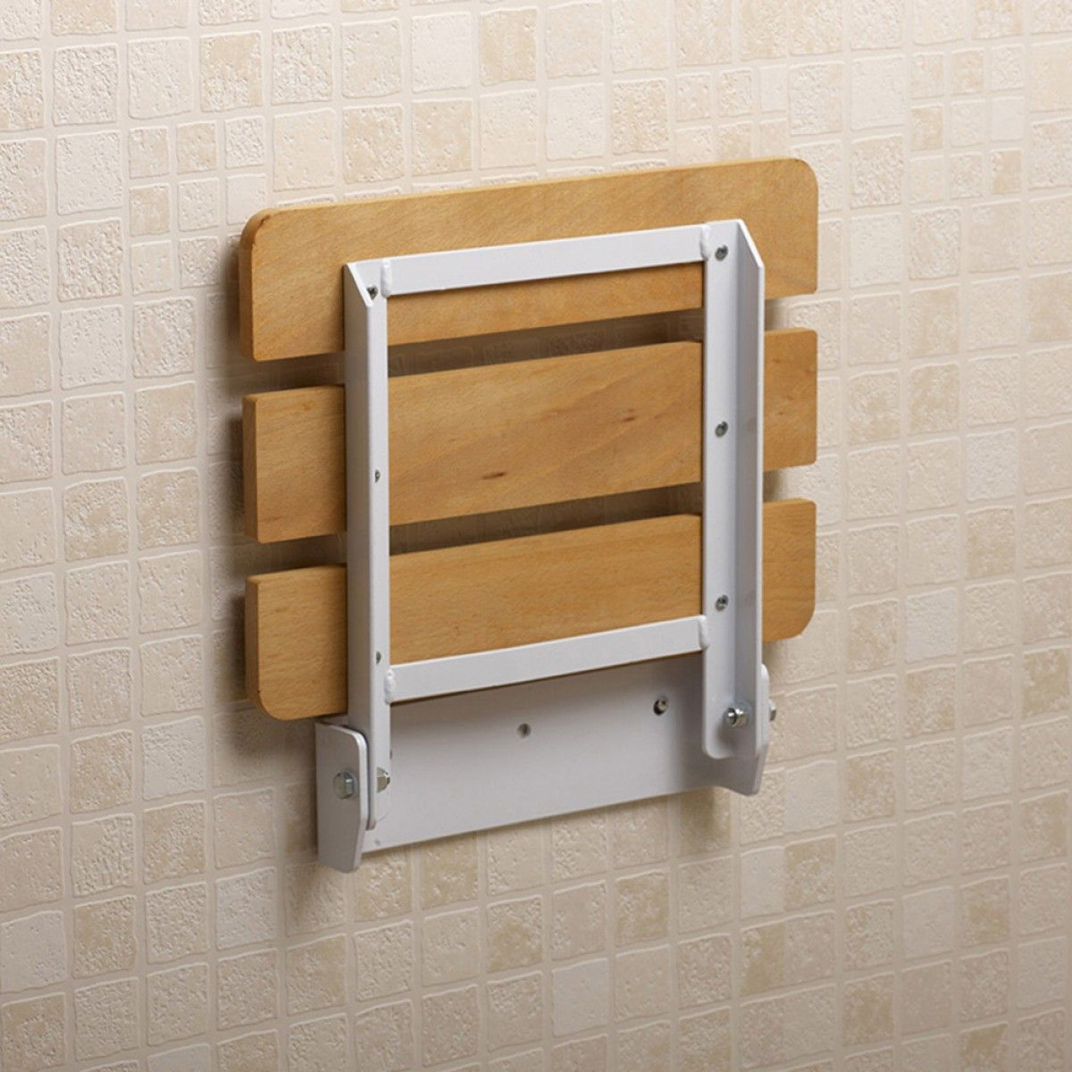 Age UK | Fold Down Shower Seat - Wall Mounted | Interiors ...