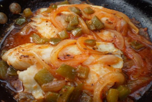 Filetes De Chillo in Salsa (Puerto Rican Fish Fillets). Photo by breezermom