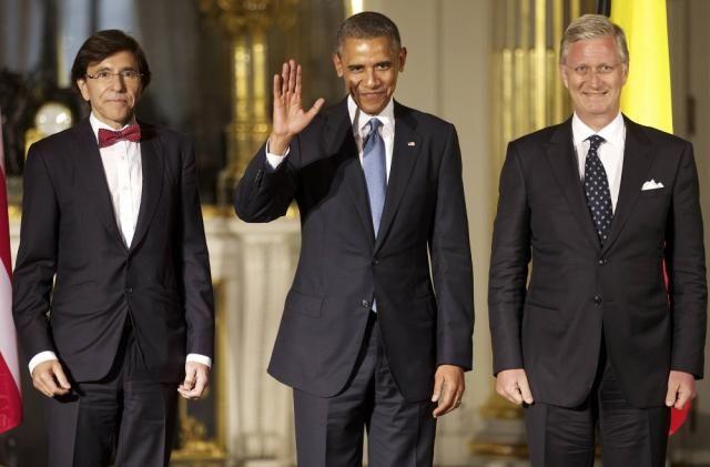 Barack Obama a rencontré le Roi mercredi, en marge du G7