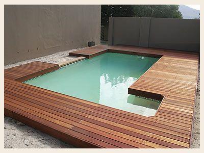wooden pool decks - google search | pool decking | pinterest